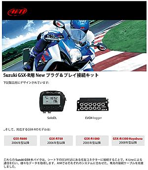GSX-R プラグ&プレイキット